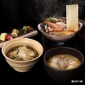 花山うどん 三種の麺つゆ付詰合せ 送料込