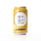 常磐MADE しゅわしゅわ木内梅酒24缶 木内酒造 送料無料<常磐>
