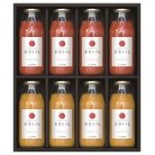 ドロップファームの美容トマト 180mlジュース8本セット(赤4本・黄4本) 送料無料