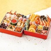 【早期特典/12月30日お届け】<3〜4人前>北海道おせち6.5寸 二段重24品 送料無料【2021おせち】