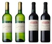 【2018/敬老の日】フランスワイン ソーヴィニヨン・サンシニアン赤白 各2本計4本セット 送料込