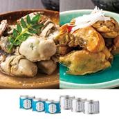 木の屋石巻水産 宮城県産牡蠣の缶詰 2種6缶セット 送料無料<ストック品>