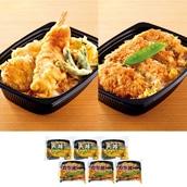 レンジで簡単! カツ丼&天丼6食セット 送料無料<ストック品>