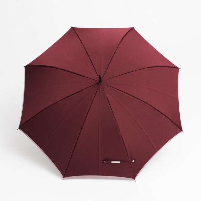 日本橋小宮商店 かさね 長傘 60×8 ワイン紅藤ピンク
