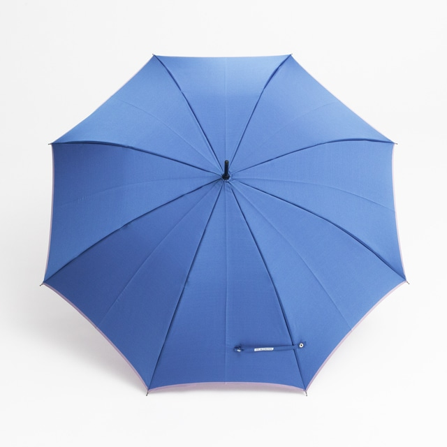 日本橋小宮商店 かさね 長傘 60×8 セルリアンラベンダー