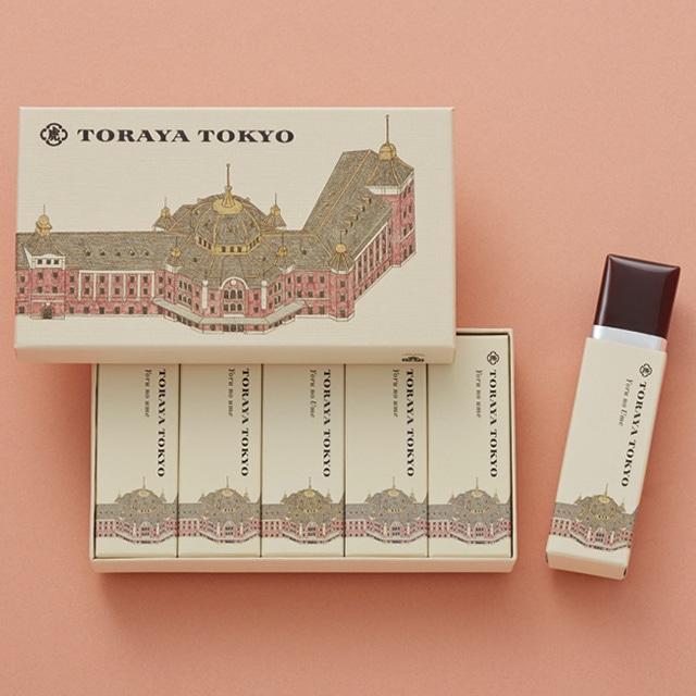 【大人の休日倶楽部会員限定 特別価格】TORAYA TOKYO小形羊羹5本入 送料込