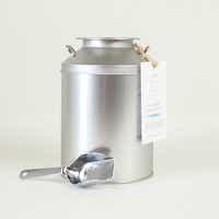 とみおかクリーニングオリジナル洗濯洗剤(ミルク缶入り)