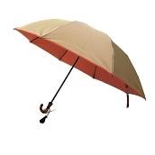 日本橋小宮商店 かさね 折傘 55×8 ベージュピンク