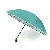日本橋小宮商店 かさね 折傘 55×8 ミントグリーンホワイト