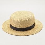 田中帽子 マラン・フェム 女性用カンカン帽子57.5cm