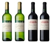 フランスワイン ソーヴィニヨン・サンシニアン 赤白 各2本計4本セット 送料込