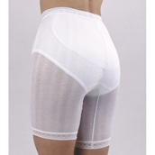 冷房対策 シルク混パンツ 2枚組 五分丈 M