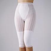 冷房対策 シルク混パンツ 2枚組 七分丈 M