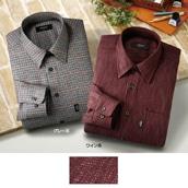 カシミア入りシャツ2色組 M