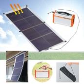 ポータブル蓄電池ソーラーシートセット