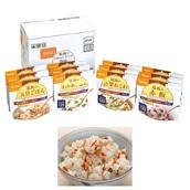 家庭用保存食アルファ米セット 12食セット 和風メニュー