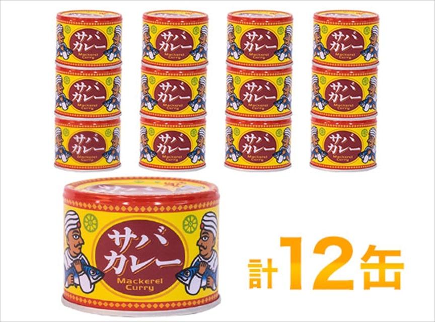 信田缶詰 サバカレー12缶 送料込