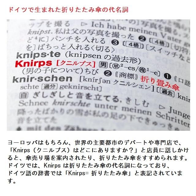 Knirps ドライバッグKN-DB1150 TrustyRed【2020HRD】