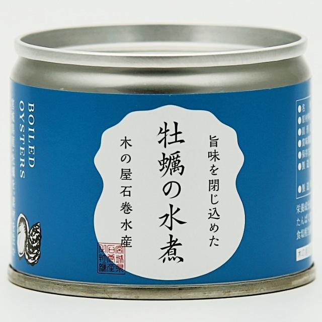 宮城県産カキ水煮6缶セット 送料込
