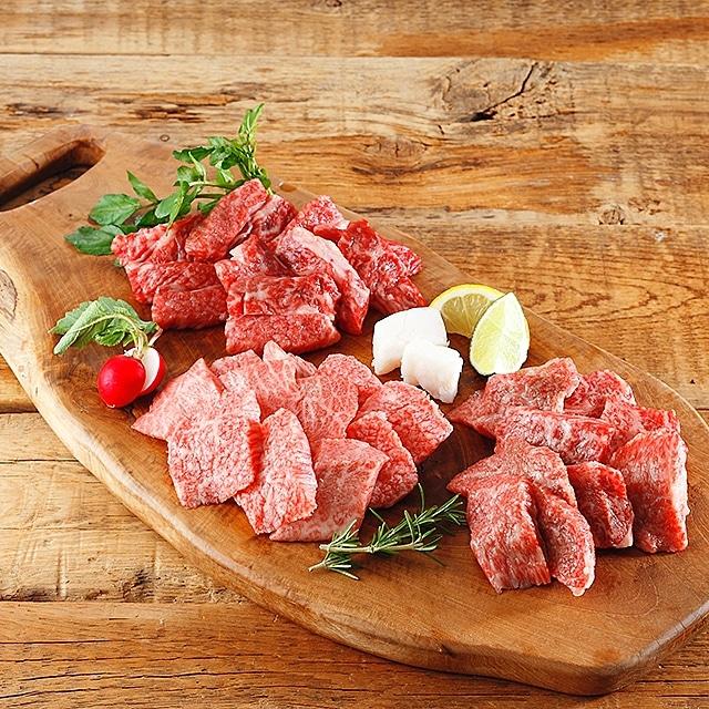 オリーブ牛食べ比べセット 送料込