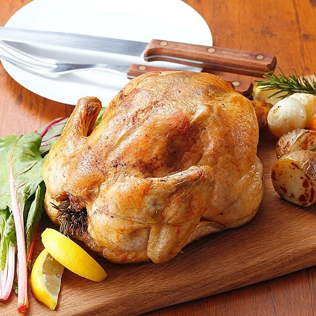 国産若鶏 丸鶏1羽(約2kg) 送料込