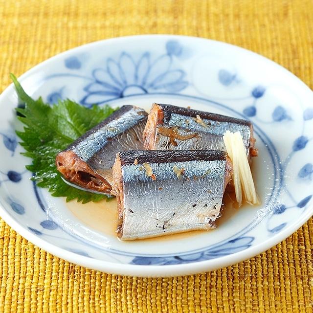 三陸さんまの魚やの煮付6パック 送料込