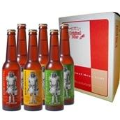 田沢湖ビール なまはげラベル詰合せ 送料込