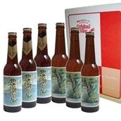 田沢湖ビール 男鹿和雄デザインラベル詰合せ 送料込