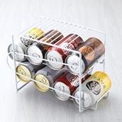 冷蔵庫内を有効活用!!上にも置ける缶ストッカー