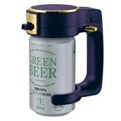 GREEN HOUSE ハンディビールサーバー ブルー