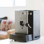 イタリア製コーヒーマシーン ルカフェ SARA シルバー カフェポット20個付き (大容量タイプ)
