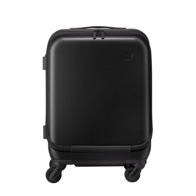 ±0 スーツケース34L B010ブラック