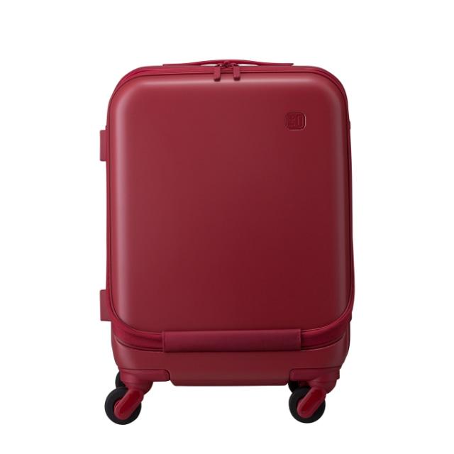 ±0 スーツケース34L B010レッド