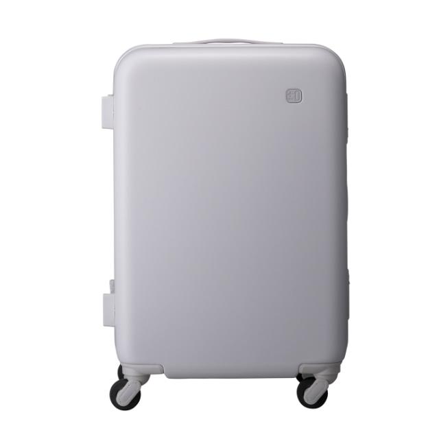 ±0 スーツケース56L B020ライトグレー
