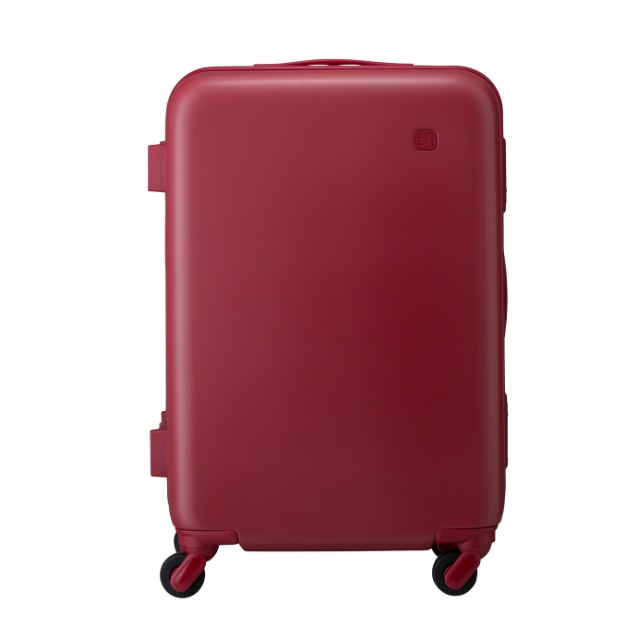 ±0 スーツケース56L B020レッド