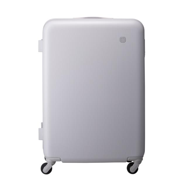 ±0 スーツケース91L B030ライトグレー