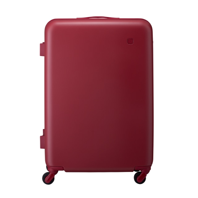 ±0 スーツケース91L B030レッド