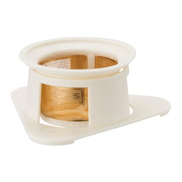コレス シングルカップゴールドフィルター フラワーホワイト
