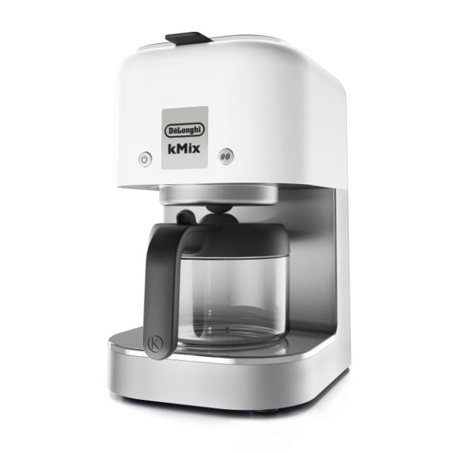 デロンギ kMixコーヒーメーカー クールホワイト