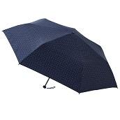 FLOATUS 超撥水大寸折りたたみ傘 ドットディープブルー