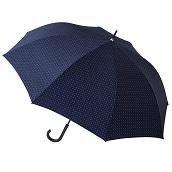 【在庫限り】FLOATUS 超撥水耐風仕様ジャンプ長傘 ドットディープブルー