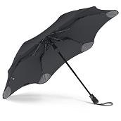 ブラント XS メトロ 折りたたみ傘 オートオープン ブラック 6本骨 51cm グラスファイバー骨 台風傘 A2457-10