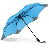 ブラント XS メトロ 折りたたみ傘 オートオープン ブルー 6本骨 51cm グラスファイバー骨 台風傘 A2457-74