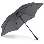 ブラント クラシック (セカンド ジェネレーション) 長傘 手開き チャコール 6本骨 65cm 台風傘 A2460-13