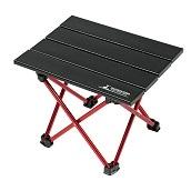 トレッカーアルミロールテーブル<ミニ>ブラック