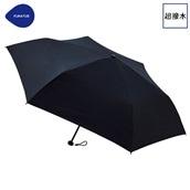 FLOATUS 超撥水傘無地 折りたたみ傘 ブラック