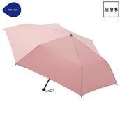 FLOATUS 超撥水傘無地 折りたたみ傘 ピーチ