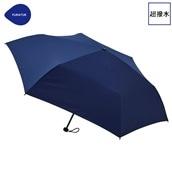 FLOATUS 超撥水傘無地 折りたたみ傘 ネイビーブルー