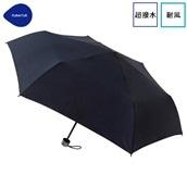 FLOATUS 超撥水傘無地 耐風折りたたみ傘 ブラック