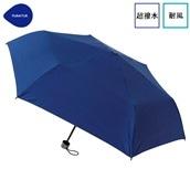 FLOATUS 超撥水傘無地 耐風折りたたみ傘 ネイビー